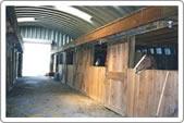 equestrian Quonset hut